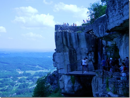 tall cliff