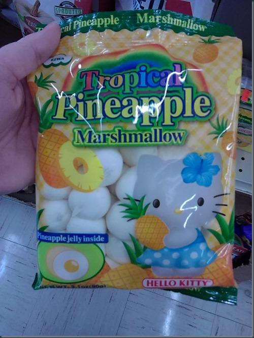 pineaapple marshmallows