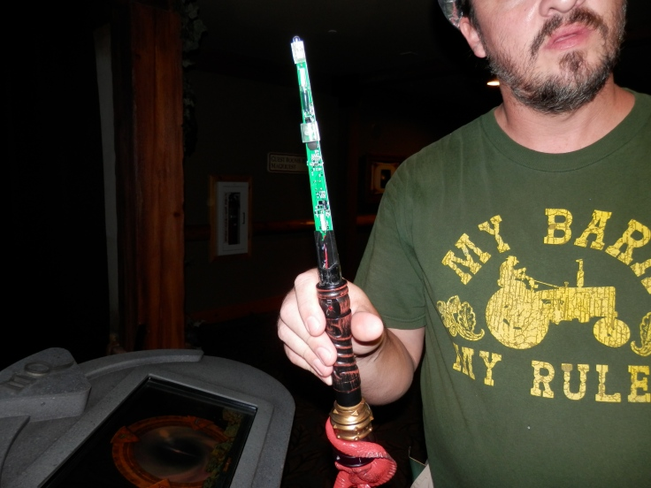 inside a magiquest wand