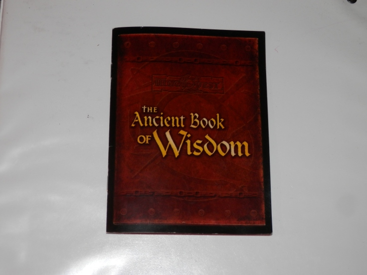 ancient book of wisdom