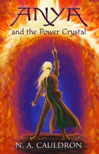 Anya and the Power Crystal